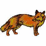 Fuchs, 78x45 mm, 5969 Stiche