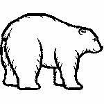 Eisbär, 125x94 mm, 2727 Stiche, nicht gefüllt, weißen Untergrund wählen