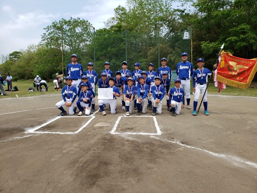 第46回少年軟式野球・春季大会 優勝 松が谷ジャガーズA 令和3年4月25日