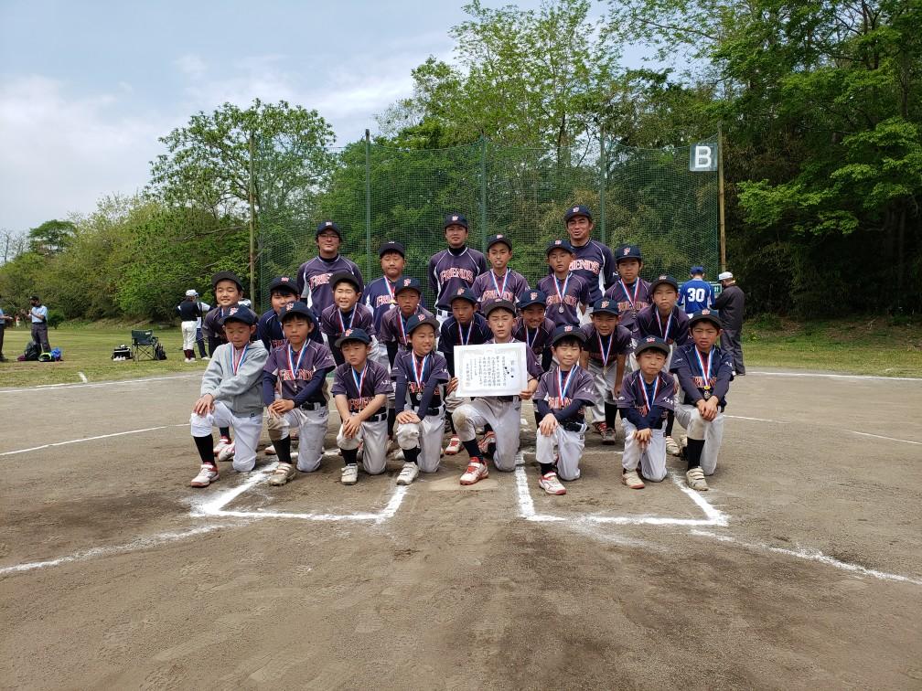 第46回 八王子市少年軟式野球・春季大会 準優勝 フレンズジュニア 令和3年4月25日