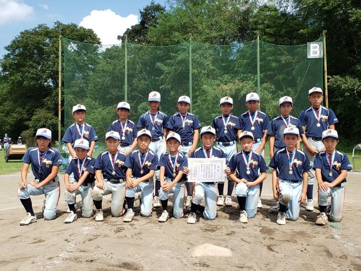 2020年度 八王子少年軟式野球 秋季大会 準優勝 ⚾ アンギラス 令和2年9月22日