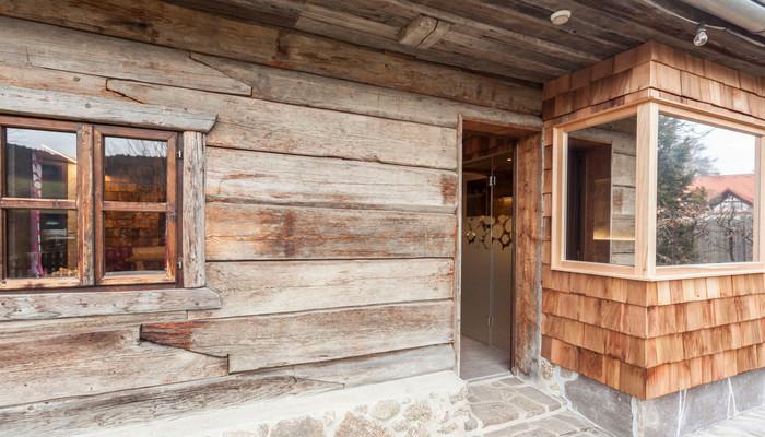 Umbau Guglwald Kräutergartenhütte