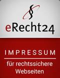 Impressum-Siegel von eRecht24