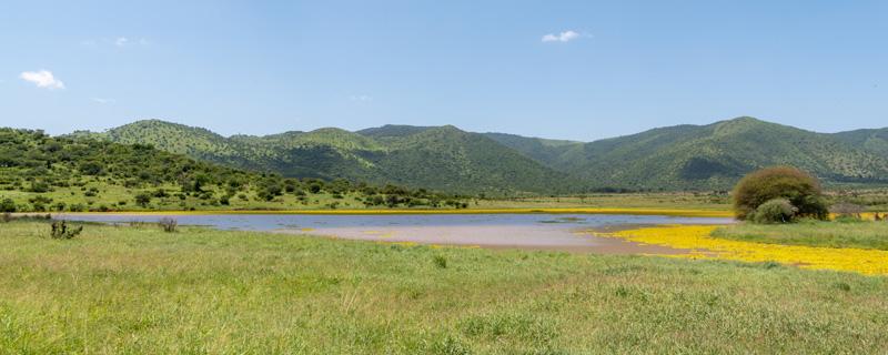 Milieux naturels très diversifiés de ce Parc national peu fréquenté.