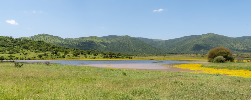 Very diverse natural environments in this little-visited national park