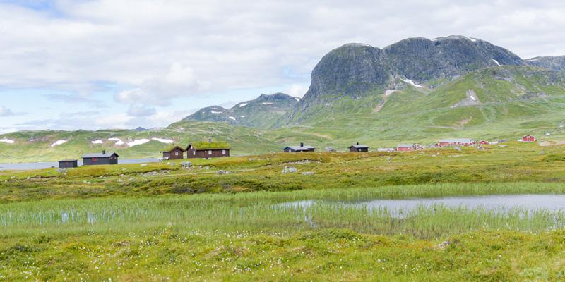 Paysage de la vallée de Valdrès