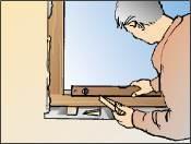 Ausrichten Fenster