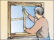 Verspannen Fenster