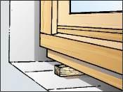Verklemmen Fenster