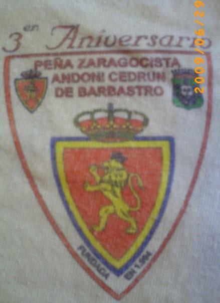 Peña Zaragocista Andoni Cedrún de Barbastro