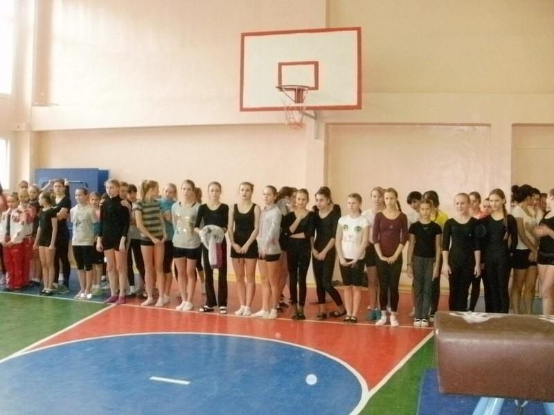 Соревнования по гимнастике в зачет 50 Спартакиады школьников, декабрь 2013