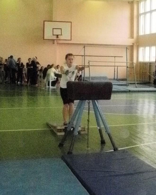 Маргарита Сосновская - опорный прыжок (результат 9,0)