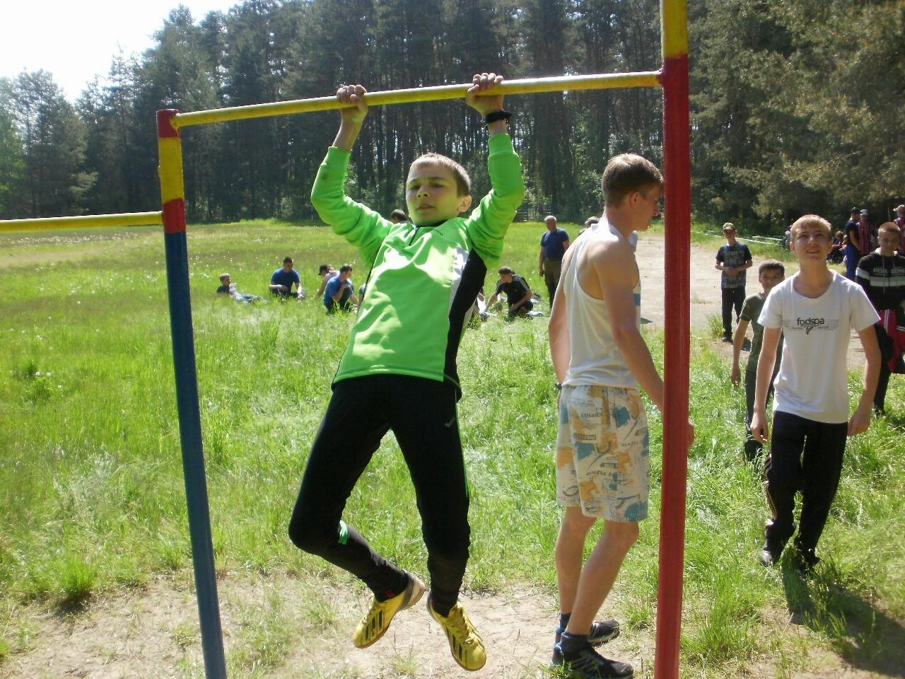 Конкурс силовой подготовки