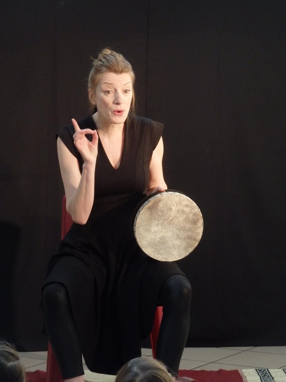 L'ogresse et les 7 chevreaux Festival Colporteur La tournée des conteurs 2016 Photo Françoise Illy