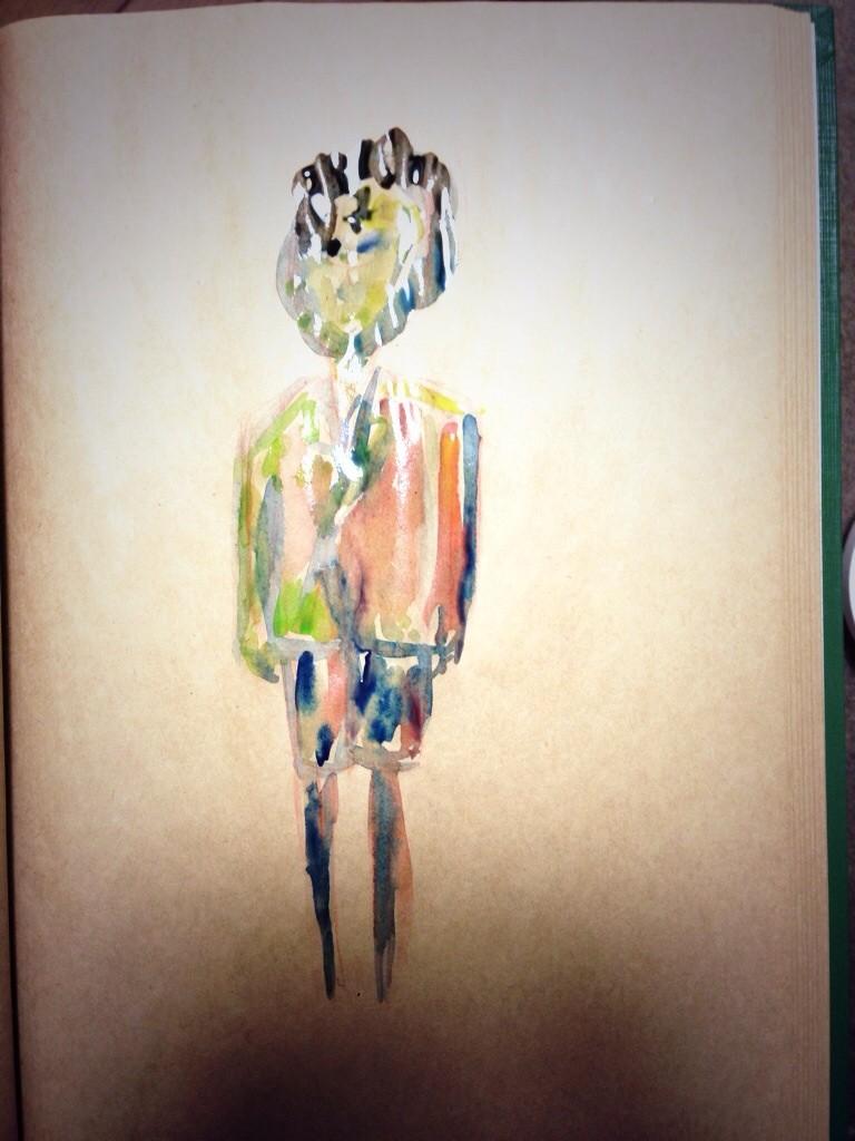 2013. 『少年と男』A4