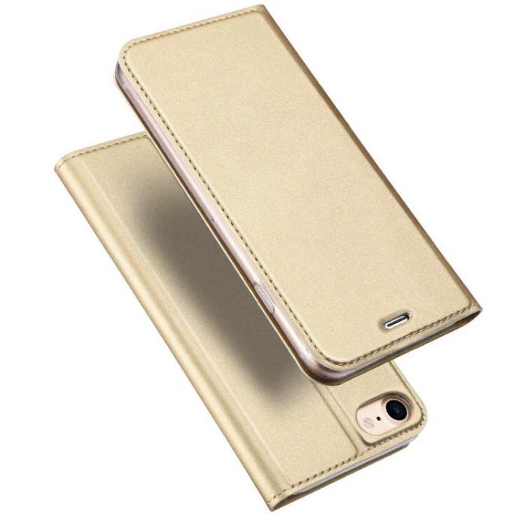 2019.2.7. iPhone ケース 手帳型 iPhone8用 ゴールド 定価1000円