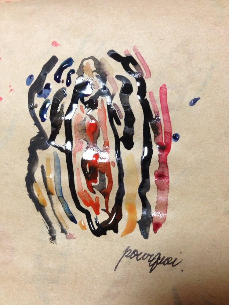 2013. 『女性器』A4