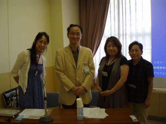 小松市長と記念撮影