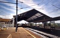 La gare actuellement...