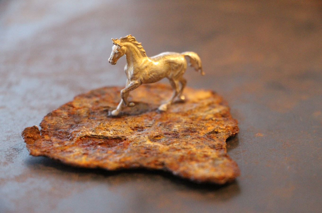 Pferd Silber