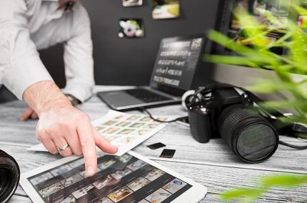 商品コンテンツ制作のイメージ