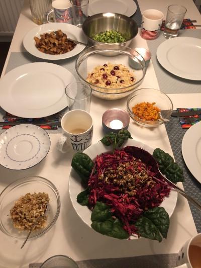 Wunschfingur-Woche-Abendessen
