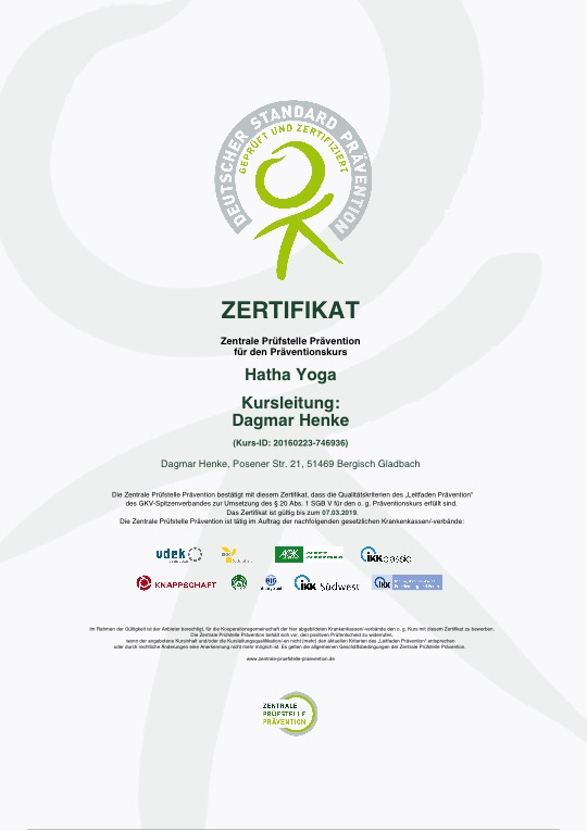 Zertifikat ZPP