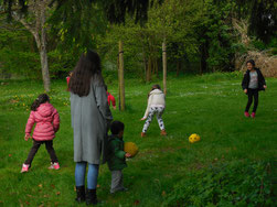Kinderbetreuung Sprachencafé