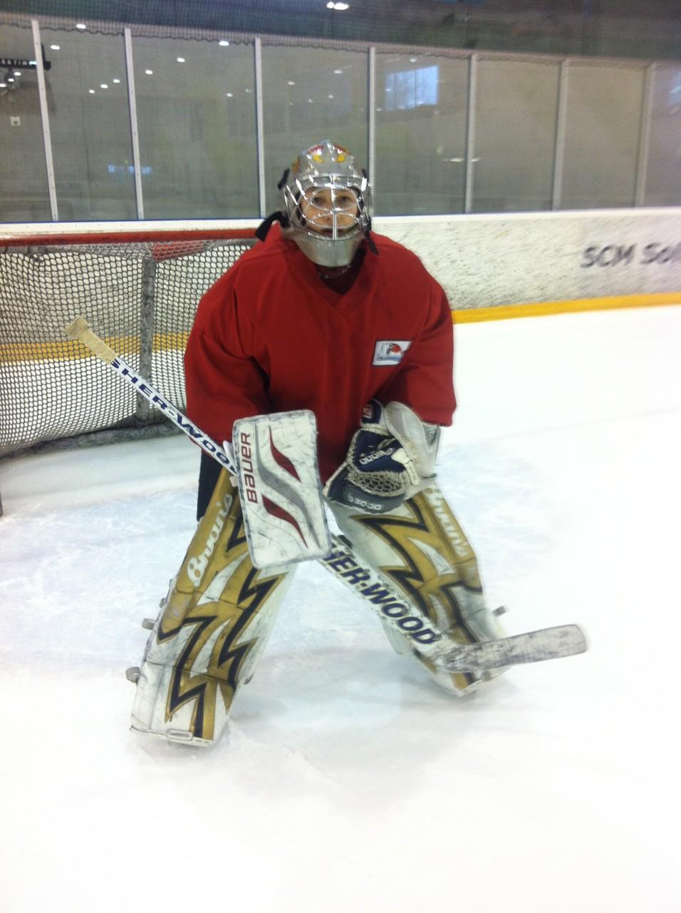 Maurin, unser Goalie-Talent
