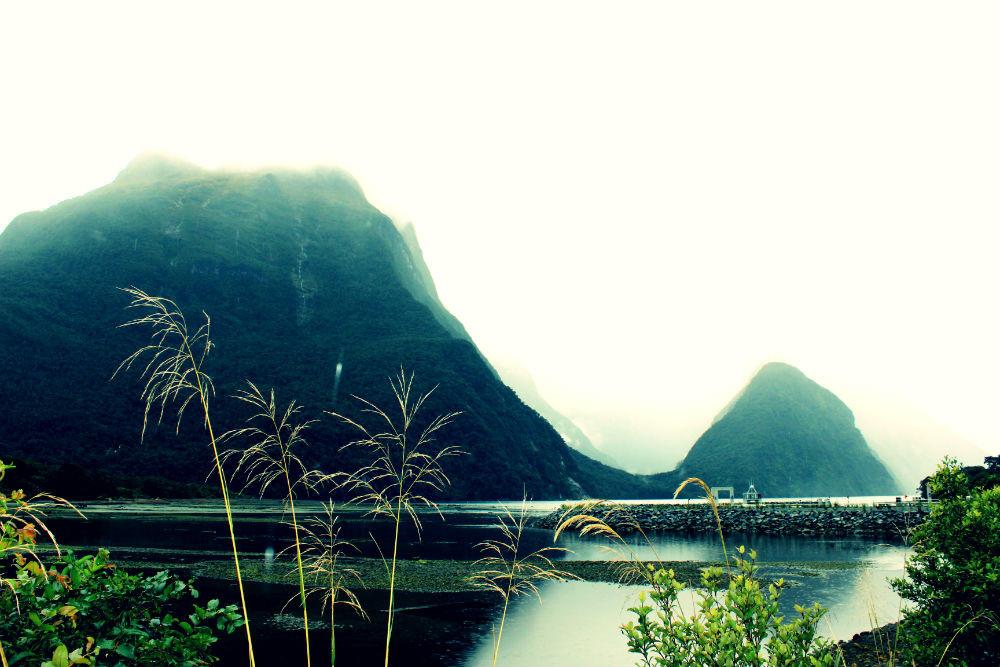 Erster Blick auf den Fjord