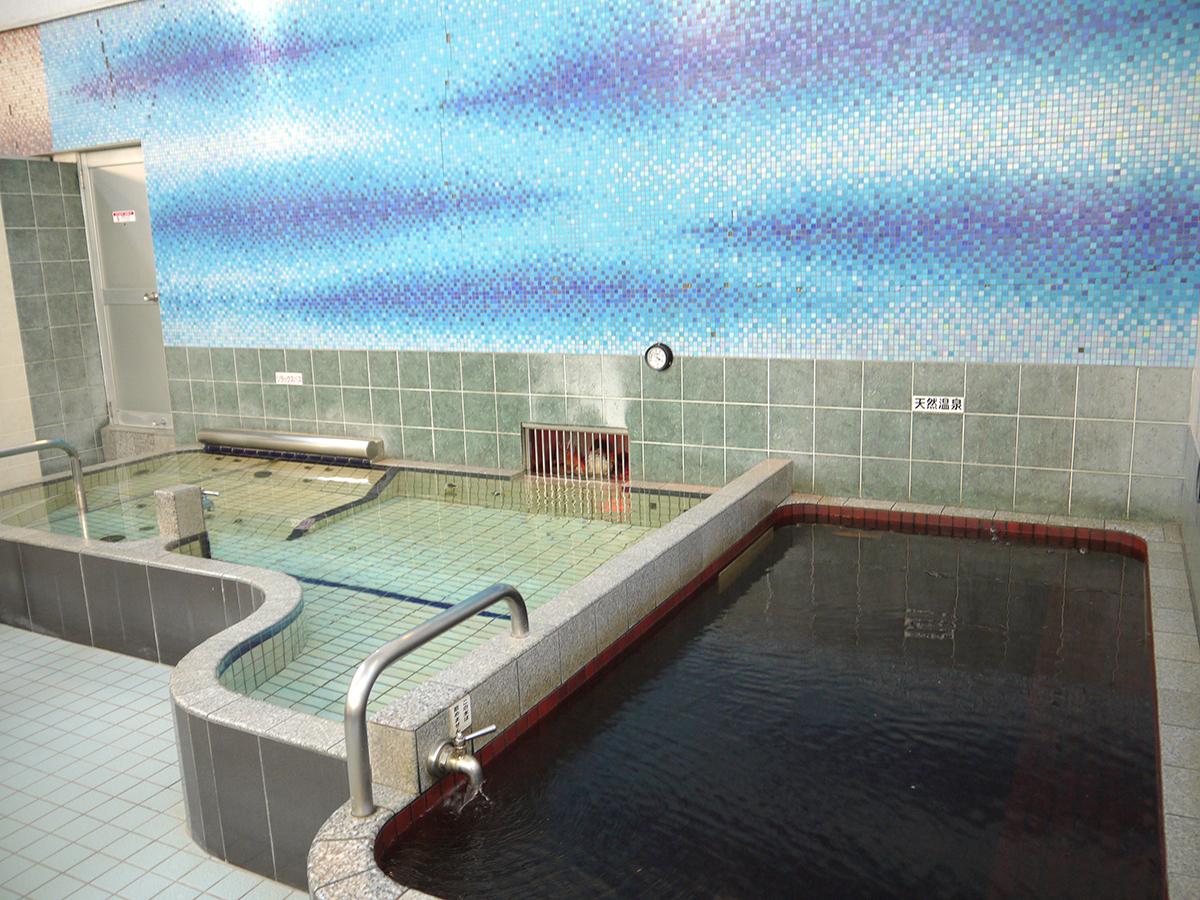 黒湯天然温泉内風呂