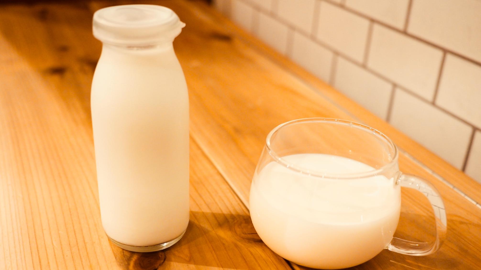 最高の牛乳