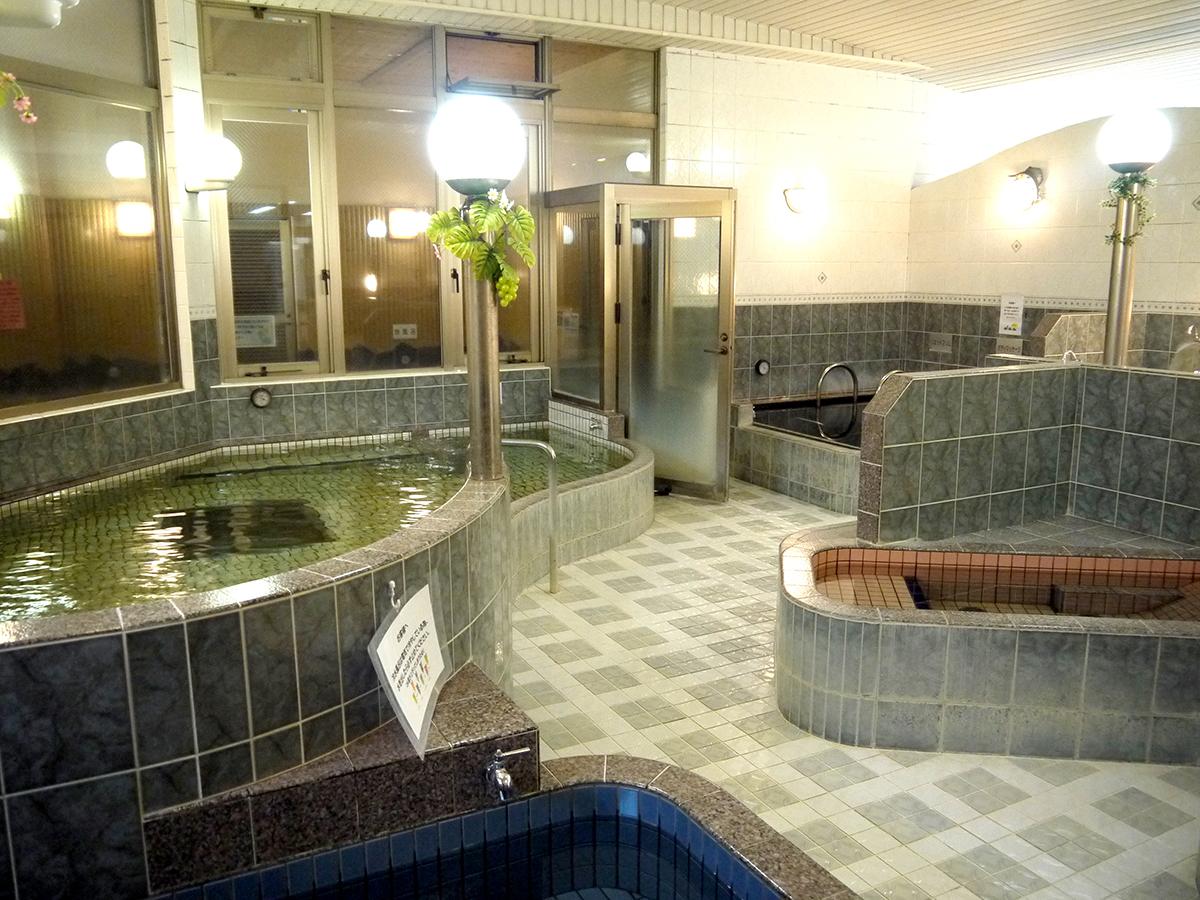 豊富な種類の浴槽①