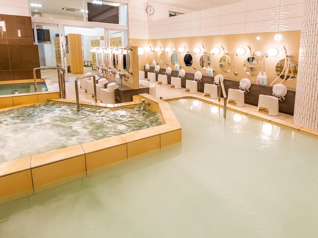 軟水炭酸シルキー風呂