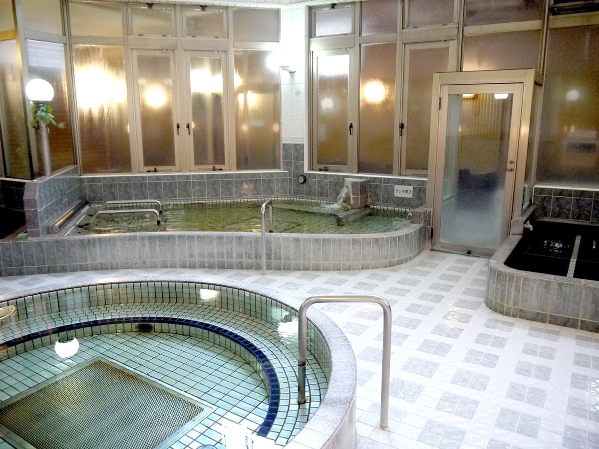 豊富な種類の浴槽②