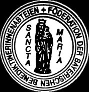Emblem der Föderation mit Gottesmutter Maria