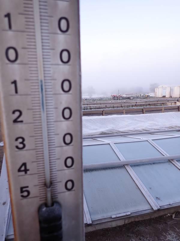 -5°C am 30. okt. 2019