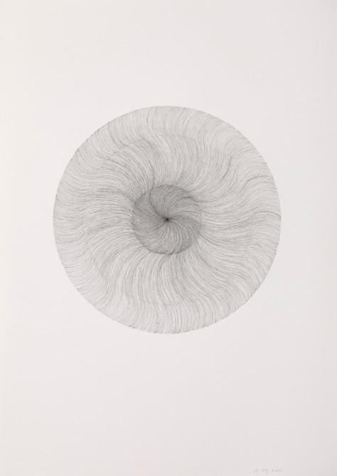 """""""verdwijnen""""  potlood - papier  30 x 21 cm  2010"""
