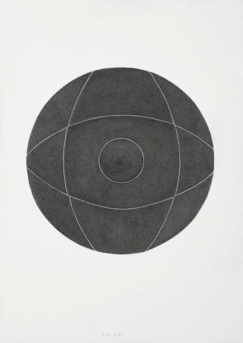 z.t.  potlood - papier  30 x 21 cm  2011