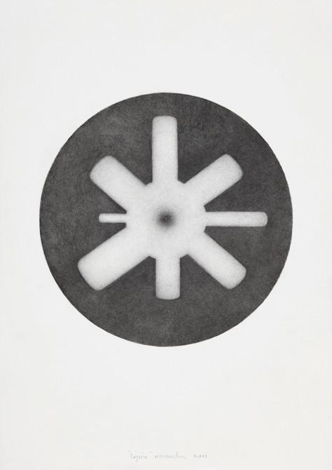 """""""logica""""  potlood - papier  30 x 21 cm  2011"""