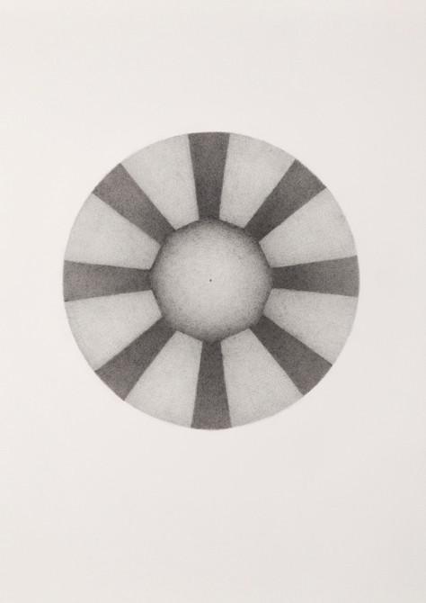 """uhm bhur bhuvak svah..""  potlood - papier  30 x 21 cm  2010"