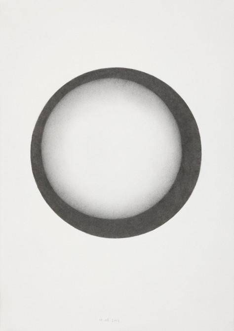 """tat"" potlood - papier  30 x 21 cm  2012"