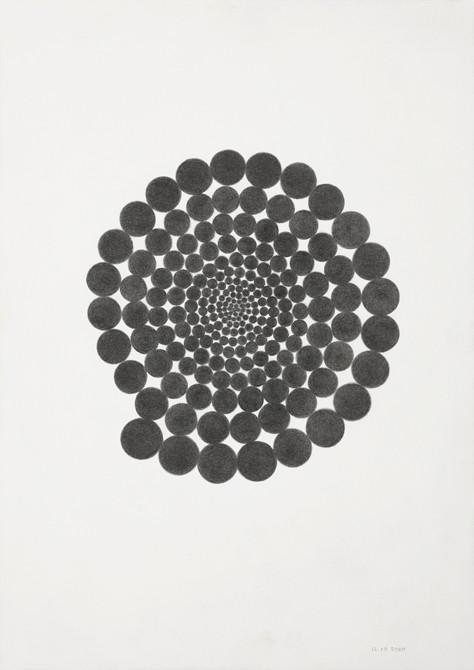 """""""expanding consciousness I""""  potlood - papier  30 x 21 cm  2010"""