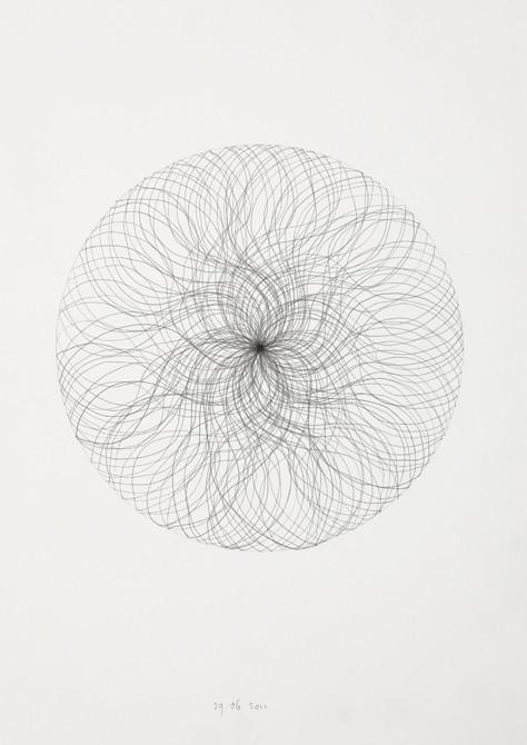 z.t.  potlood - papier  30 x 21 cm  2010