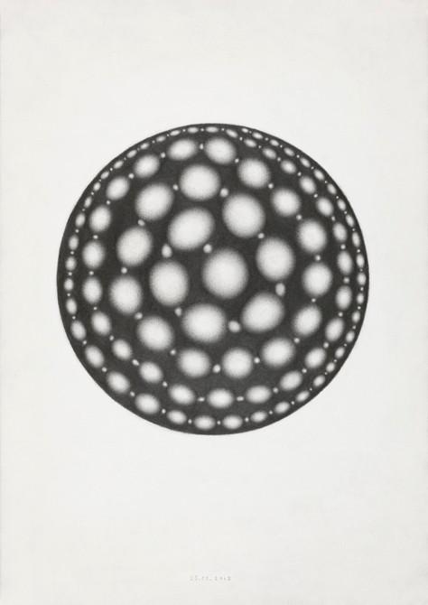 z.t.  potlood - papier  30 x 21 cm  2013