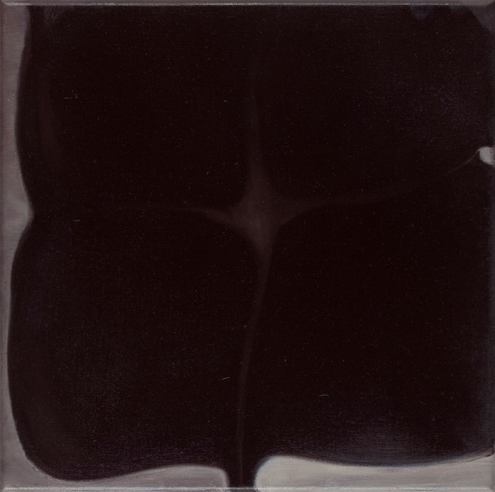 """""""Nachtblad""""   oil-canvas  30x30 cm   2014"""
