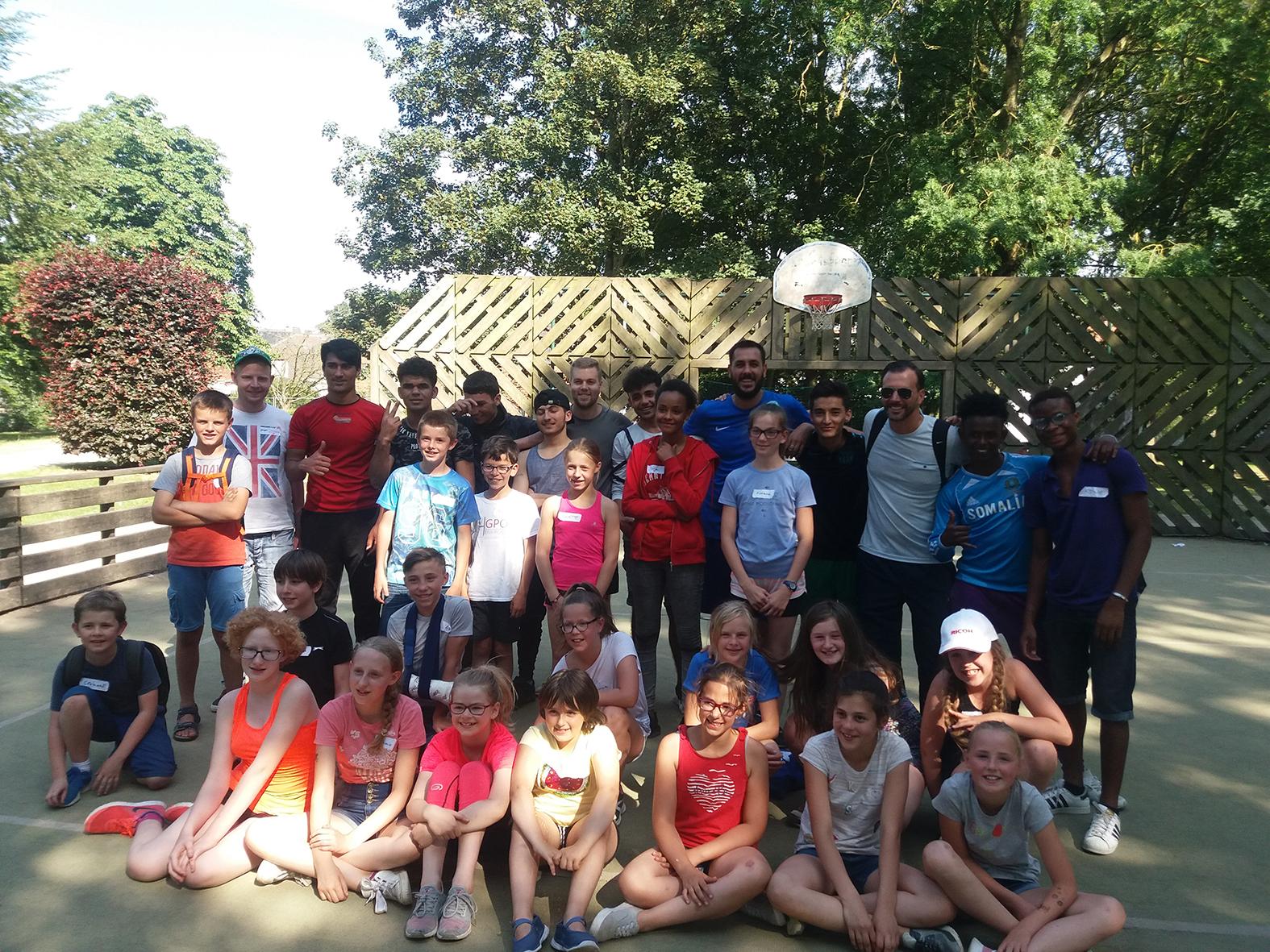 Activité sportive avec la Maison des jeunes