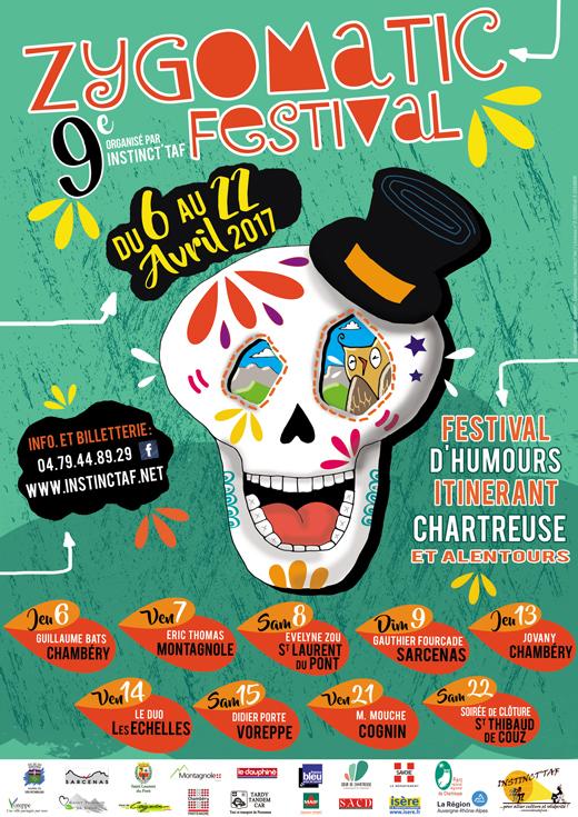 Zygomatic Festival affiche 2017