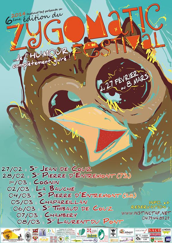Zygomatic Festival affiche 2014