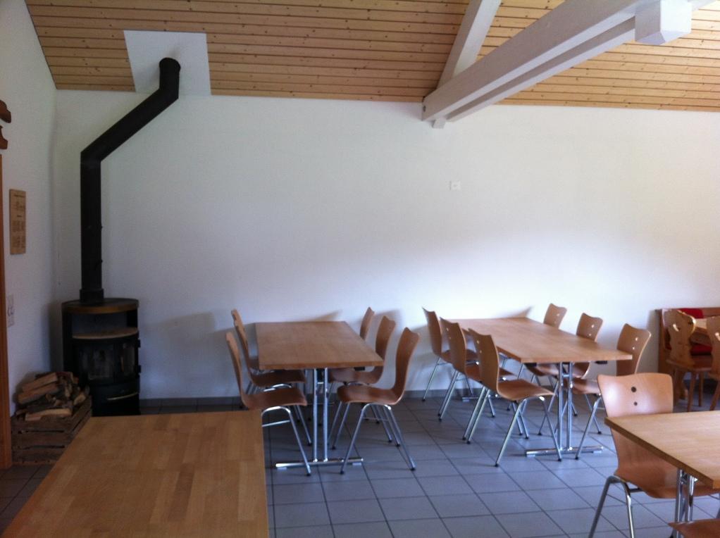 kleine Tischreihen